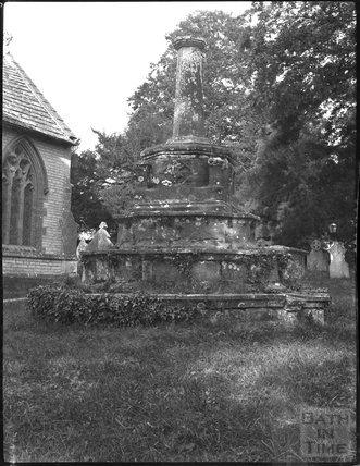 Churchyard Cross, Charlton Mackrell, Somerset, c.1900s