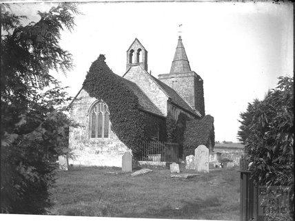 Limpley Stoke church, c.1900s