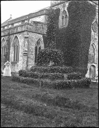 Churchyard Cross, All Saints, East Pennard, Somerset c.1900s