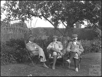 Three Edwardian Gentlemen, c.1900s