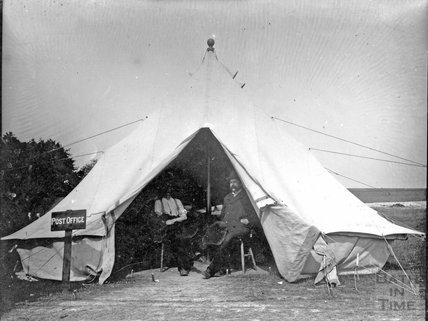 Military camp on Salisbury Plain, c.1900s