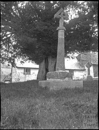 Churchyard Cross, Timberscombe, Exmoor, Somerset, c.1900s