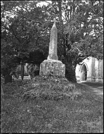Churchyard cross, Kingweston, Somerset, c.1900s