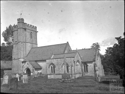 St Andrew's Church, Whitestaunton, Somerset, c.1900s