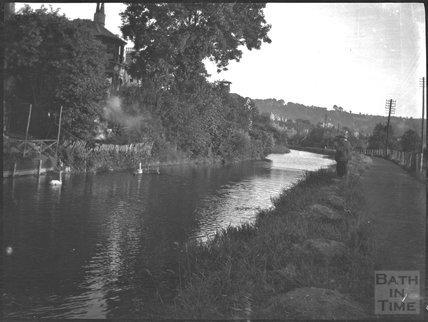 Kennet and Avon Canal, Bath c.1920