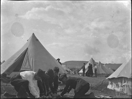 Military camp near Swanage, c.1910