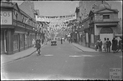 Pulteney Bridge, May 1937