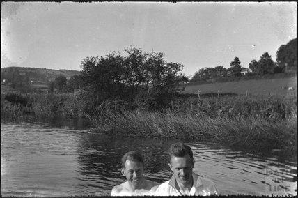 River Avon, Bathford, c.1930s