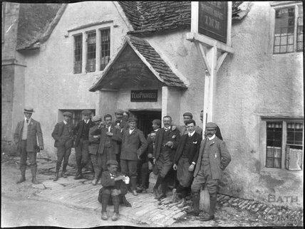 White Hart, Castle Combe, c.1900s