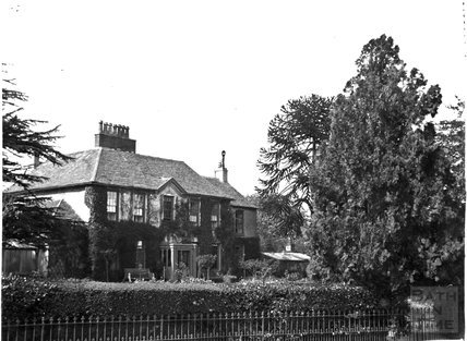 Large unidentified house, c.1900s