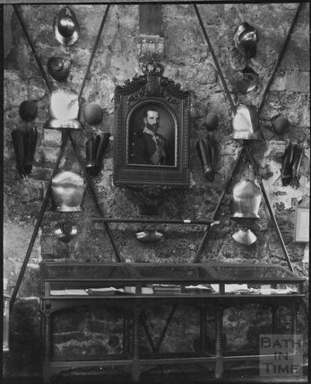 Inside Carisbrooke Castle, Isle of Wight, c.1900s