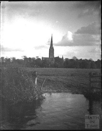 Salisbury Cathedral, c.1900s
