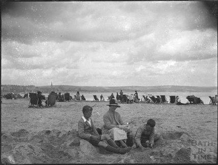 Weymouth beach, 1920s