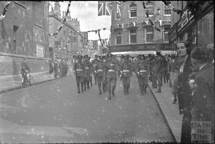 Union Street, Bath, May 1937