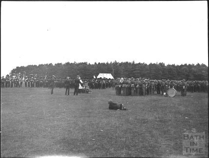 Unidentified military camp c.1900s