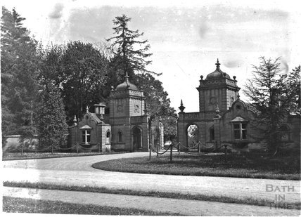 North Lodge gates, Westonbirt House, Gloucestershire, c.1900s