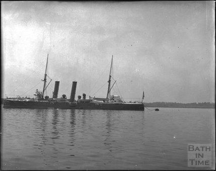 Unidentified steamship, Southampton, c.1900s