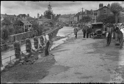 St Saviour's Road, Larkhall, 1932