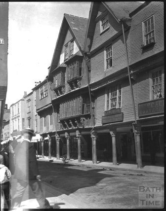 Butter Walk, Dartmouth, c.1900s