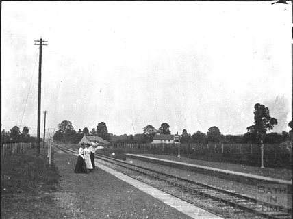 Alford station, c.1900s