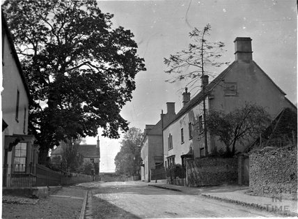 Didmarton village scene, Gloucestershire, c.1900s