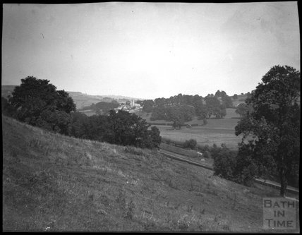 View to Bathford from Warminster Road, Bathampton, c.1900s
