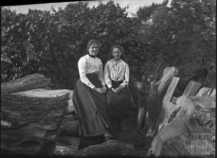 Unidentified woman and girl, c.1900s
