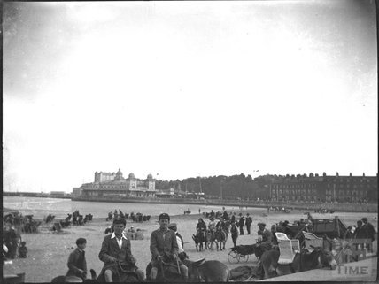 Weymouth beach, 1920s