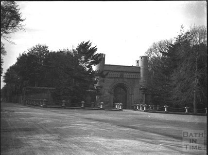 Grand Lodge Gatehouse to Penryhn Castle, Wales, c.1900s