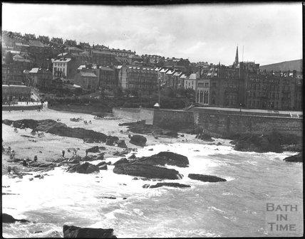 Ilfracombe seafront, Devon, c.1900s