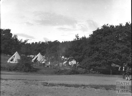 Unidentified military camp, c.1900s