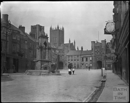 Market Place, Wells, c.1900s