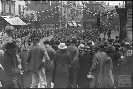 Old Bond St / Milsom Street, Bath, May 1937