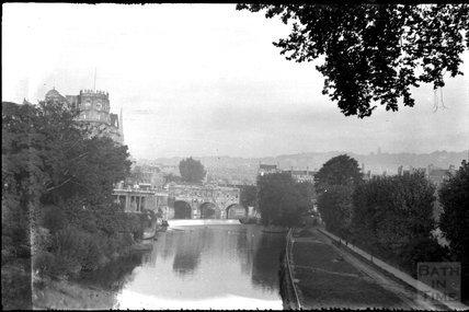 Pulteney Bridge, Bath c.1920