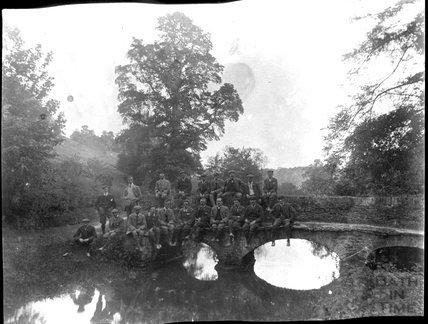 Unidentified bridge, possibly near Castle Combe, c.1900s