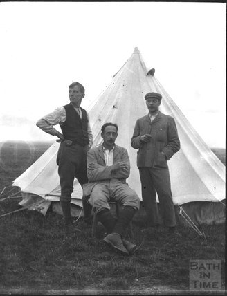 Post Office tent, unidentified military camp, c.1900s