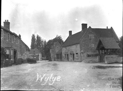 St Mary the Virgin Church, Wylye: Lych Gate, c.1900s