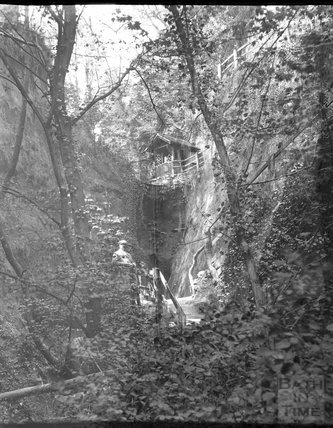 Shanklin Chine, Isle of Wight, c.1900s