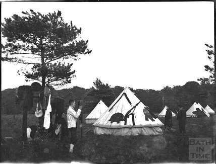 Military camp life, c.1900s