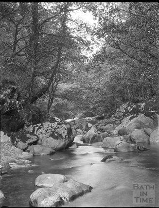 Unidentified rocky stream, c.1900s