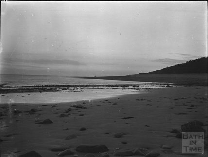 Unidentified beach, c.1900s