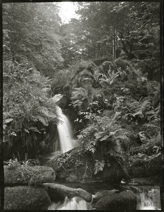 Unidentified waterfall, c.1900s
