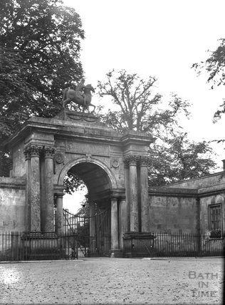 The Entrance Gate to Wilton House, Salisbury, Wilts, c.1900s