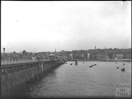 Weymouth pier, c.1900s