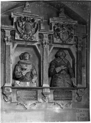 The Bassett Monument, Claverton Church, c.1900s