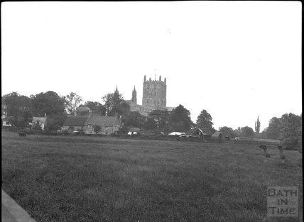 Tewkesbury Abbey, c.1900s