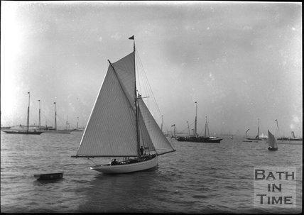 Sailing boat, c.1900s