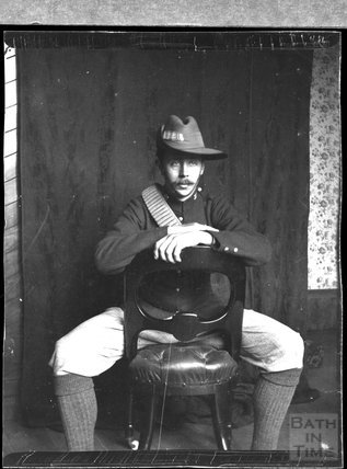 Soldier, unidentified location, c.1900s