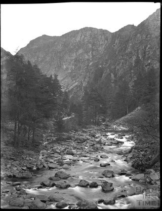 Aberglaslyn Pass in North Wales, c.1900s