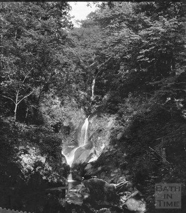 Unidentified gorge, c.1900s